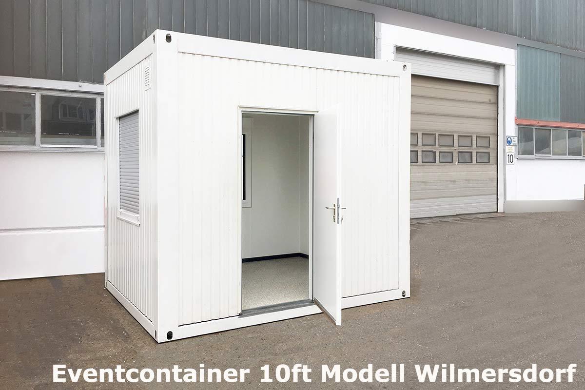 eventcontainer 2 messecontainer f r events ausstellungen showrooms und messen in. Black Bedroom Furniture Sets. Home Design Ideas
