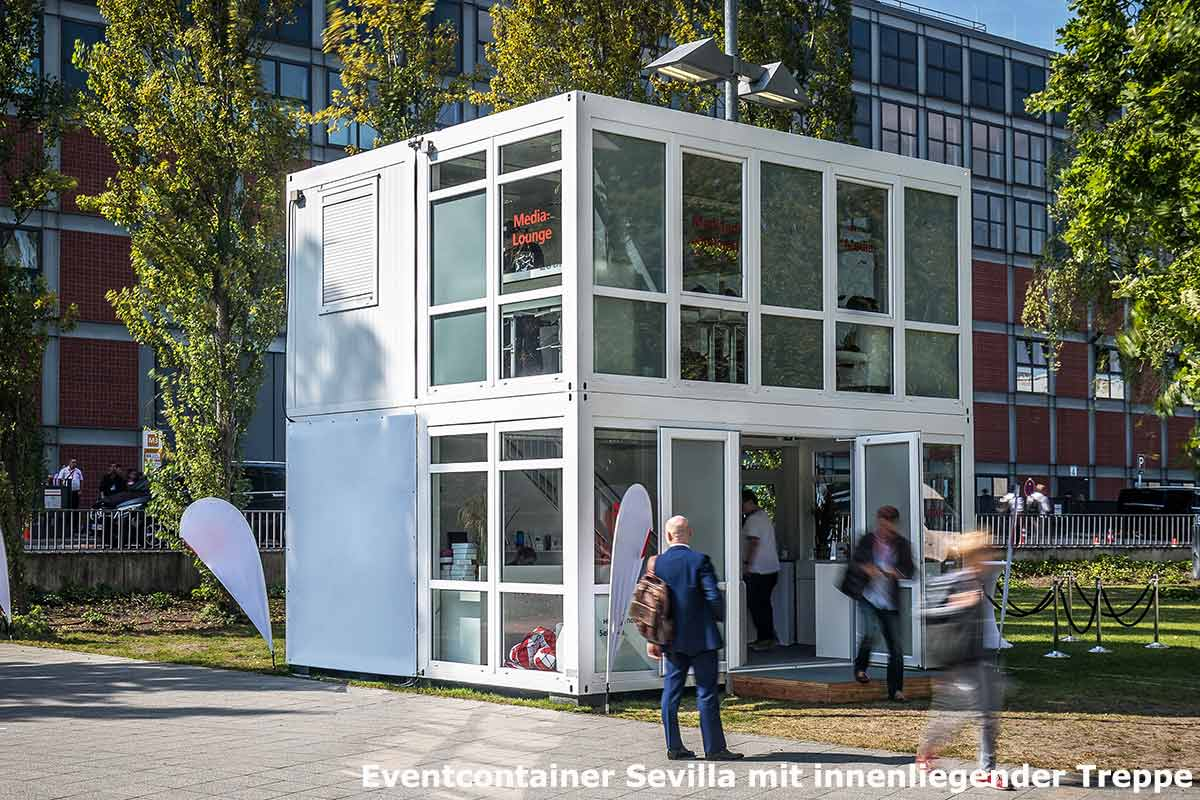containeranlagen f r messen ausstellungen und roadshows im corporate design ihres unternehmens. Black Bedroom Furniture Sets. Home Design Ideas