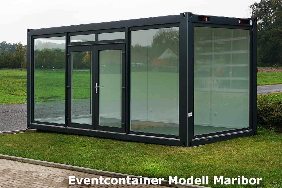 eventcontainer 1 messecontainer f r events ausstellungen showrooms und messen in. Black Bedroom Furniture Sets. Home Design Ideas