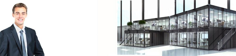 Unsere neuen Glasfassaden zeigen Eleganz und Einzigartigkeit