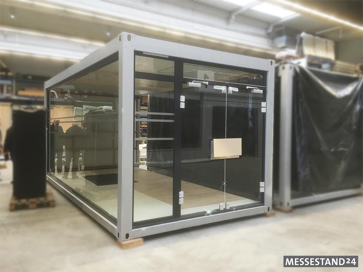 Event Container Mieten Der Messestand Wird Zum Mobilen Showroom