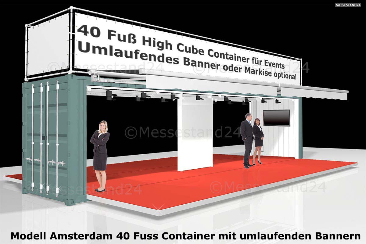 eventcontainer 1 messecontainer f r events. Black Bedroom Furniture Sets. Home Design Ideas